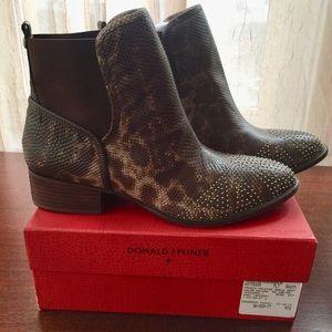 Donald J Pliner Pronto Leather Boot New/Box Sz 10
